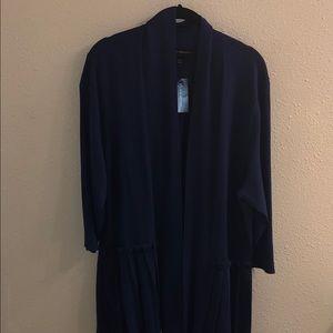 NWT Lane Bryant Navy Blue Open Cardigan Size 18/20